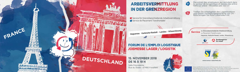 Forum de l'emploi logistique à Forstfeld